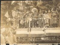 Native American Parade Float, Princeton, 1932