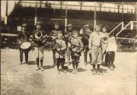 Boy Scout Band, Princeton, ca. 1910
