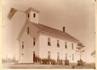 Early Photograph of Monson Academy, Monson, ca. 1900