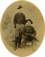 Lts. Longfellow and Gleason, Culpeper VA, 1863