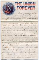 Pvt. John Stewart to Samantha Leighton, Virginia, 1861