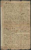 Agreement to hunt Indians, Falmouth, 1757