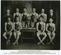 1932 Monson Academy State Champion Basketball Team, Monson 1932