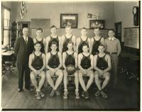 Monson Academy Basketball Team 1935, Monson 1935