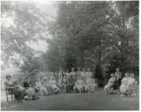 Tisbury Manor Daughters of the American Revolution, Monson, ca 1955
