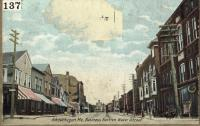 Water Street  looking Easterly Ca. 1904