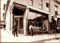 Sampson's Corner, Skowhegan, ca. 1900
