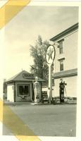 Texaco Station, Main Street, Bridgton, ca. 1938
