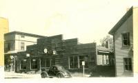 Meserve Garage, Bridgton, ca. 1938
