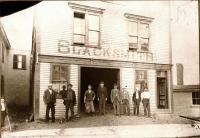 Fisher Blacksmith Shop, ca. 1898