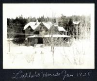 Harbor Cottage Northeast Harbor Maine January 1928