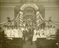 Sullivan High School baccalaureate service, Berwick, 1901