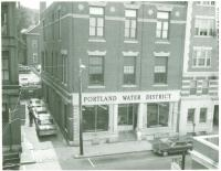 Portland Water District Casco Street Office, ca. 1964