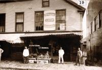 Water Street, Skowhegan, 1893