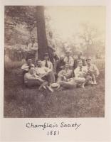Champlain Society, Mount Desert Island, 1881