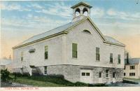 First Town Hall, Berwick ca. 1930