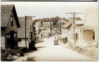 Looking north toward the bridge and mainland, South Bristol, ca. 1926