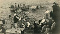 Film Crew for Queen of the Sea, 1918