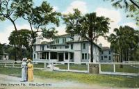 Alba Court Inn, New Smyrna, Florida, ca. 1908