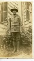 Soldier Harry T. Cavanaugh, Biddeford, 1917