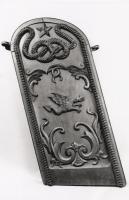 Gangway board from 'U.S.S. Hartford', ca. 1862