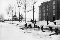 Ice Breaking, Lewiston Canal, ca. 1900