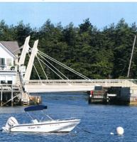 Artist's rendering of a new bridge as proposed in a privately-funded study, 2013