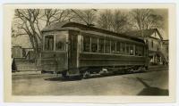 Westbrook Trolley, Westbrook, ca. 1930