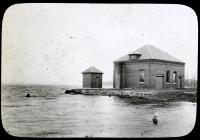 Portland Water District Intake House in Chadbourne Cove, 1916