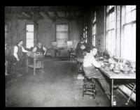 Portland Water District Meter Shop ca. 1915