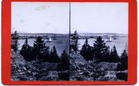 View NE from Ingraham's Hill, Rockland, ca. 1875