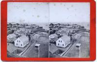 View northeast from Lynde Hotel, Rockland, ca. 1875