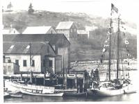 'Medric' and 'Bowdoin,' East Boothbay, ca. 1923