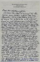 Dr. Richard Stevens Letter on CCC, 1985