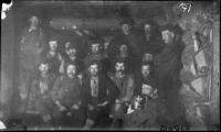Men in the Dingle at Robar's Camp