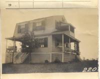 Bates property, Eight Maine Avenue, Peaks Island, Portland, 1924