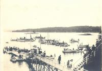 Linekin Bay Yacht Club, ca. 1913