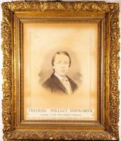 Frederic W. Bosworth portrait, Portland, ca. 1868