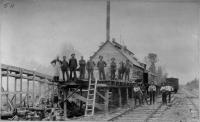 Lumber business, early days of B.A.R.