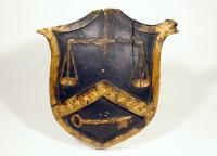 'Caleb Cushing' emblem, ca. 1860