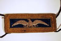 John M. Brown shoulder strap, ca. 1864