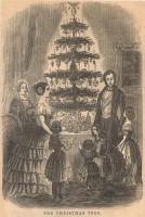 Christmas tree illustration, 1850