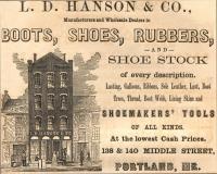 L.D. Hanson & Co. advertisement