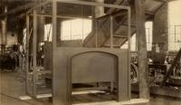 Cab frame, Portland Company, ca. 1900