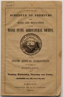 Maine State Agricultural Exhibition, 1860