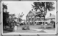 Clarence E. Mulford home, Fryeburg,  ca. 1930