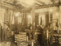 108-millimeter howitzer shell production