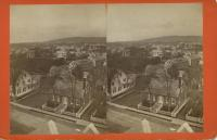 View northwest from top of custom house, Rockland, ca. 1875