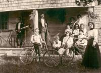 Hamlins and friends, South Waterford, ca. 1900