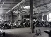 Knox automobiles at the Portland Company